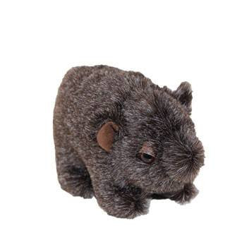 Australian Made Gifts & Souvenirs with the Bruce Hairy Nose Wombat -by Jozzies. For the best Australian online shopping for a Soft Toys - 1