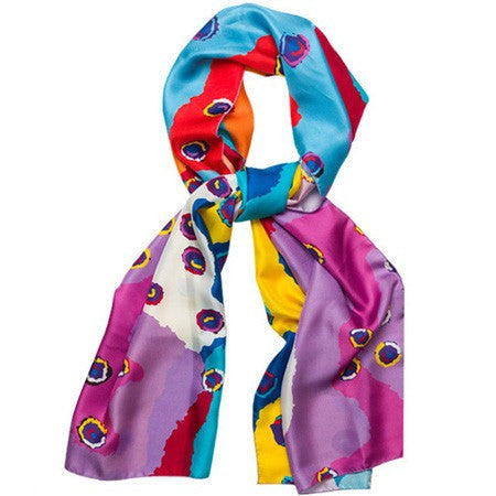 Australian Made Gifts & Souvenirs with the Saraeva Marshall Silk Scarf -by Alperstein Designs. For the best Australian online shopping for a Scarves - 1