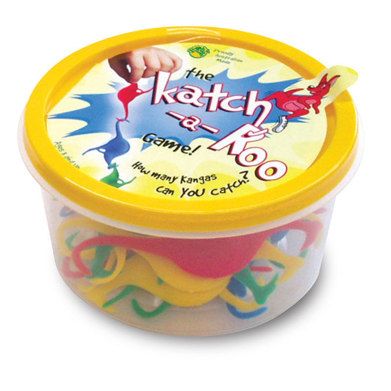 Australian souvenir games for kids -Katcha Roo by Oddball