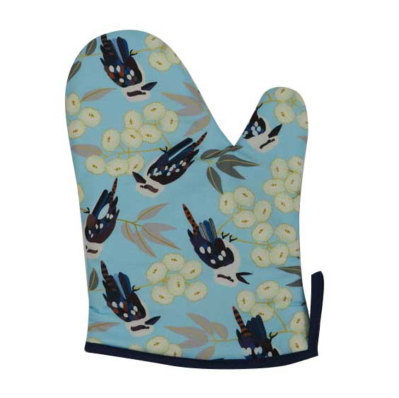 Kookaburra Gifts - Oven Mitt Made in Australia