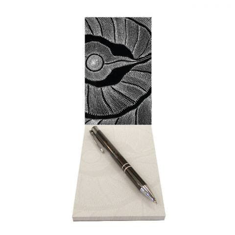 Australian Made Gifts & Souvenirs with the Small Notepad Anna Price -by Utopia. For the best Australian online shopping for a Aboriginal Designs - 1