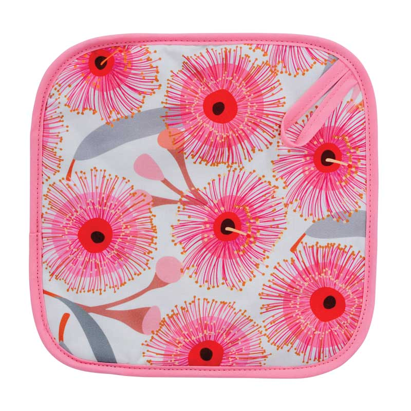 Pot Holder Pink Gum Blossom