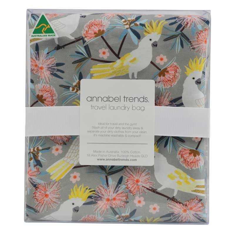 Cockatoo Gifts Australia - Travel Laundry Bag