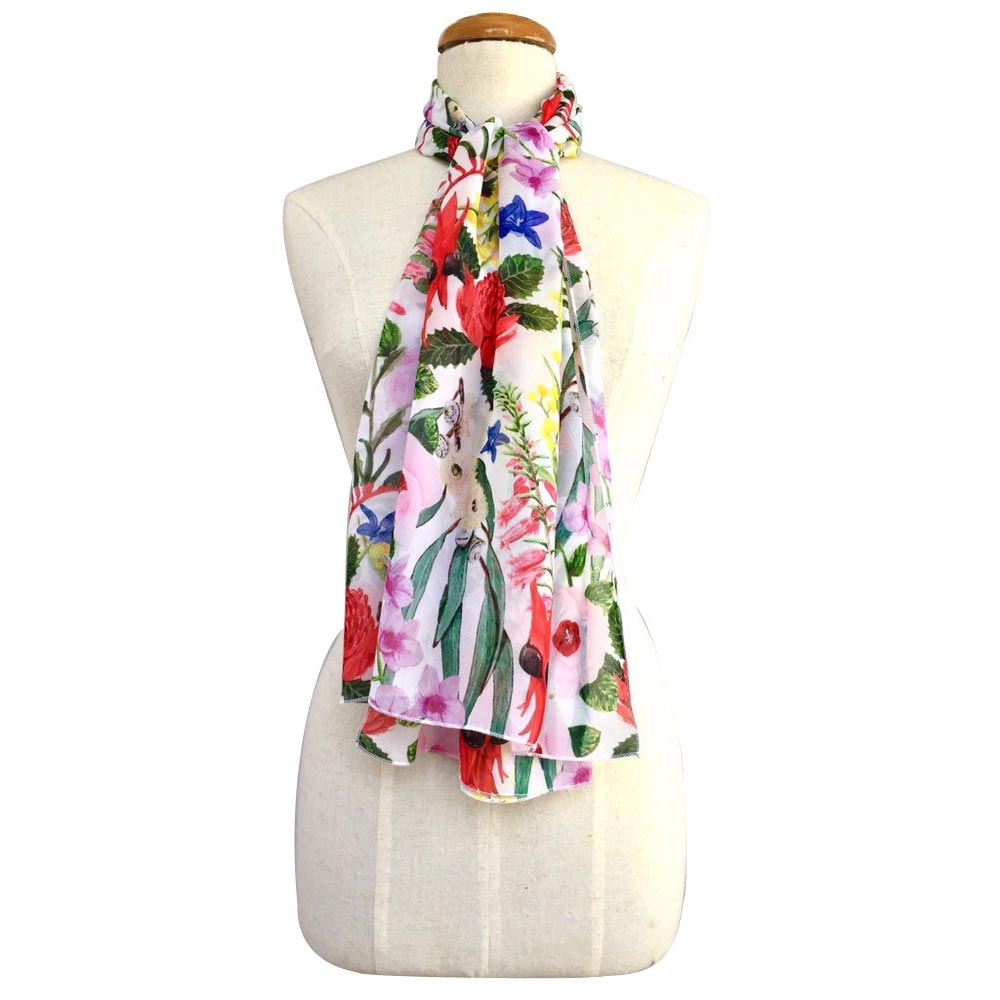 Australiana Scarf for Women Unique Gifts for Overseas