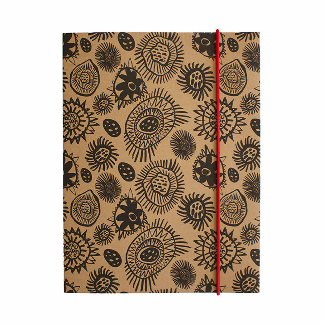 Australian Corporate Stationery Gifts Indigenous A5 Notebook Corban & Blair