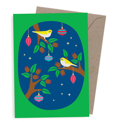 Corporate Christmas Cards Australia - Gum Blossom Tree