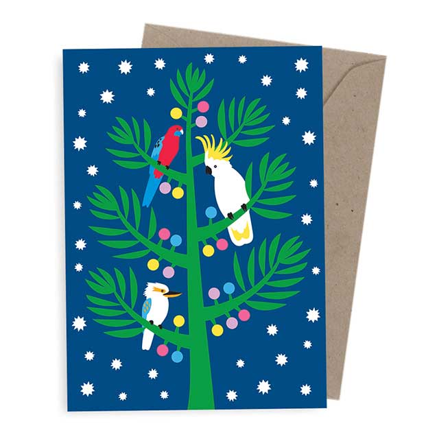Corporate Christmas Cards Australia - Australiana Tree