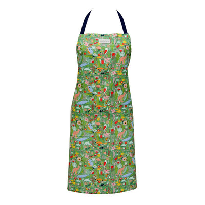 Down Under Australiana Print Apron Proudly Australian Made by Annabel Trends