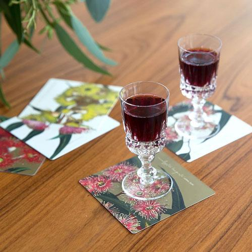 Eucalypt Drink Coasters