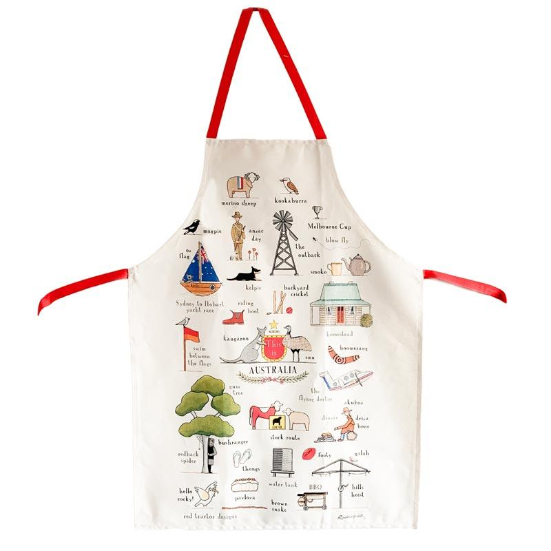 This Is Australia Apron - Souvenirs & Gifts that Celebrate Aussie Life & Citizenship