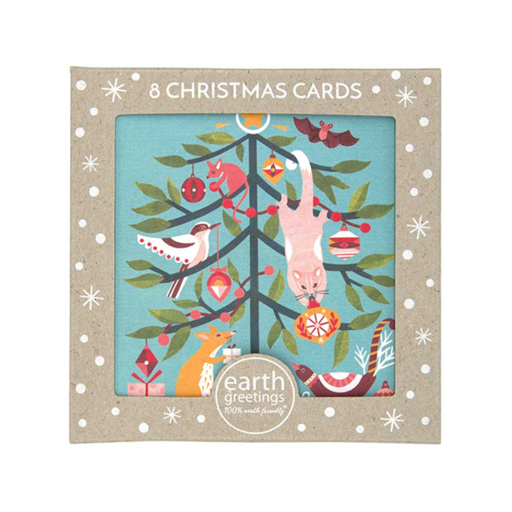 Australian Boxed Christmas Card Packs Made in Australia - Possum & Friends