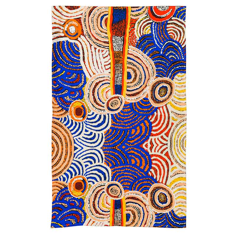 Aboriginal Tea Towel - Nora Davidson