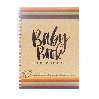 Australian Made Gifts & Souvenirs with the Rainbow Baby Book -by Rhicreative. For the best Australian online shopping for a Babies - 1