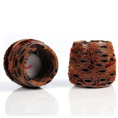 Australian Made Gifts & Souvenirs with the Banksia Tea Light Holders -by Banksia Gifts. For the best Australian online shopping for a Homewares - 3