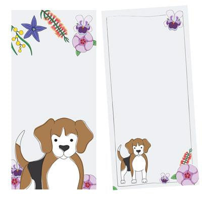 Australian Made Gifts & Souvenirs with the Dog Notepad -by Bits of Australia. For the best Australian online shopping for a Stationery - 1