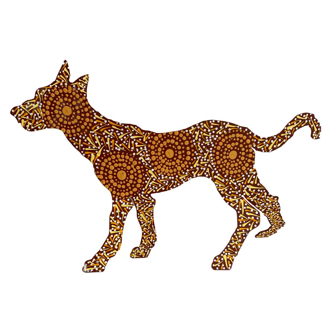 Best Aboriginal Art Gifts Australia - Warlu Desert Dogs