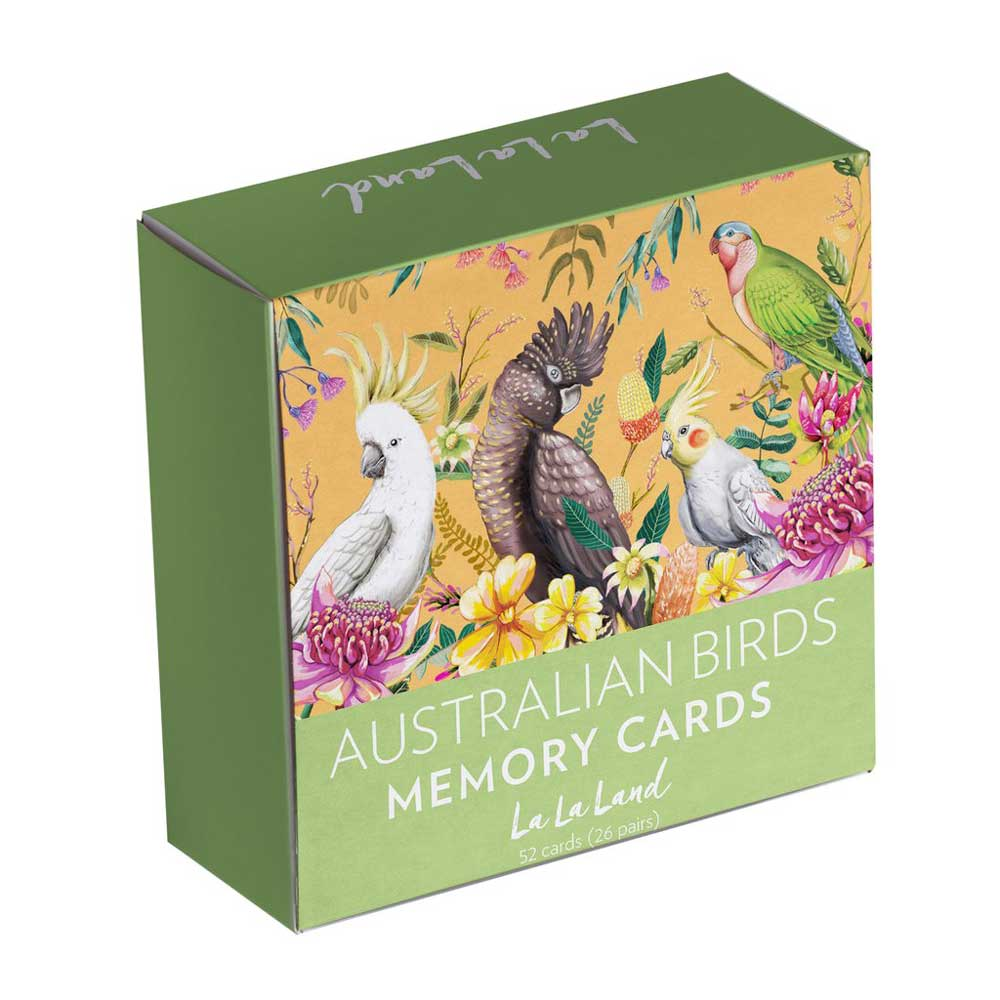 Gifts for Bird Lovers Australia - Memory Card Games