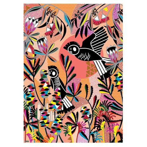 Black Cockatoo Wrapping Paper