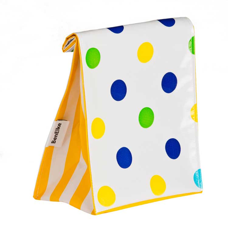 Confetti Blue Lunch Bag