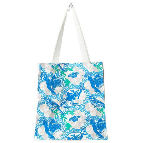 Blue Aussie Animals Tote Bag