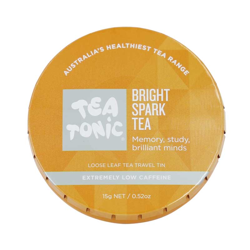 Bright Spark Loose Leaf Tea Travel Tin