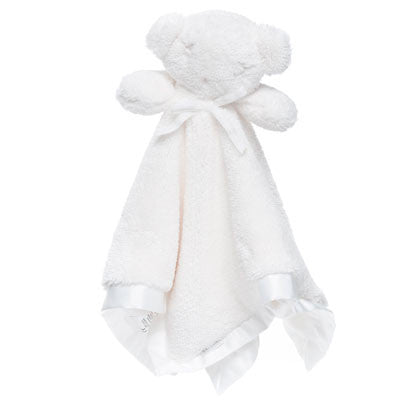 Australian Made Gifts & Souvenirs with the White Babies Comforter -by Britt Bear. For the best Australian online shopping for a Babies - 1