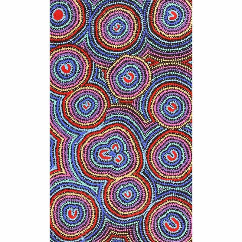 Buy Original Aboriginal Dot Paintings Online Florence Nungarrayi Tex