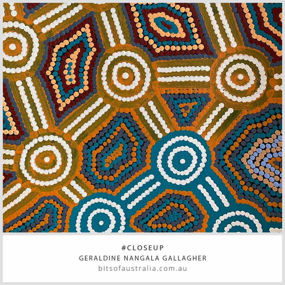 Buy Original Aboriginal Art Gifts by Geraldine Nangala Gallagher