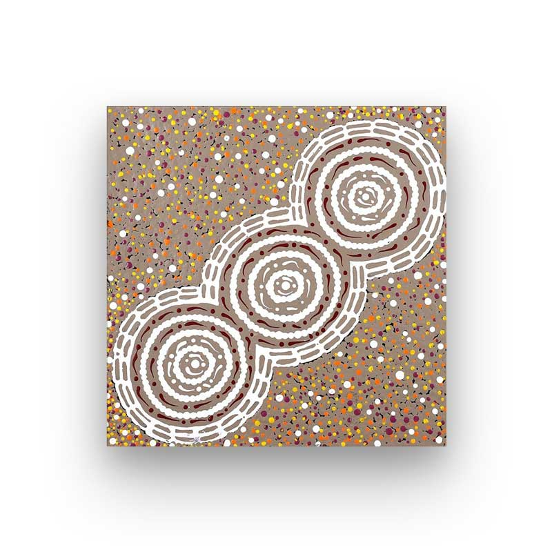Buy Original Aboriginal Art Sydney at Bits of Australia Balmain by Theresa Napurrula Ross