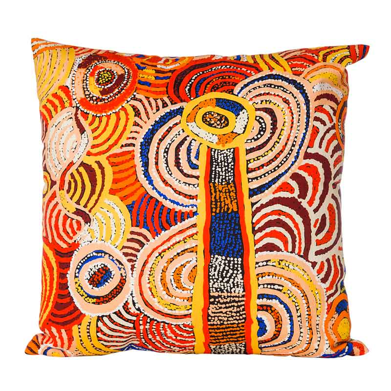 Australian Aboriginal Homewares - Cushion Cover Nora Davidson