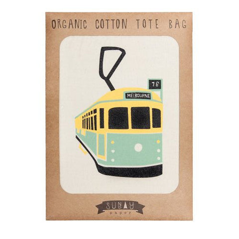 Melbourne Tram Calico Bag