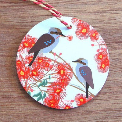 Australian Made Gifts & Souvenirs with the Kookaburra Decoration -by Mokoh Design. For the best Australian online shopping for a Homewares