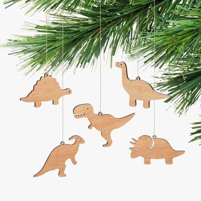 Australian Made Gifts & Souvenirs with the Dinosaur Ornaments Box Set -by Byrne Woodware. For the best Australian online shopping for a Homewares - 2
