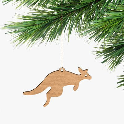 Australian Made Gifts & Souvenirs with the Kangaroo Decoration -by Byrne Woodware. For the best Australian online shopping for a Homewares - 1