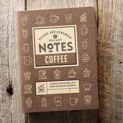 Australian Made Gifts & Souvenirs with the Coffee Pocket Notes -by Wood Duck Press. For the best Australian online shopping for a Note Pads - 1