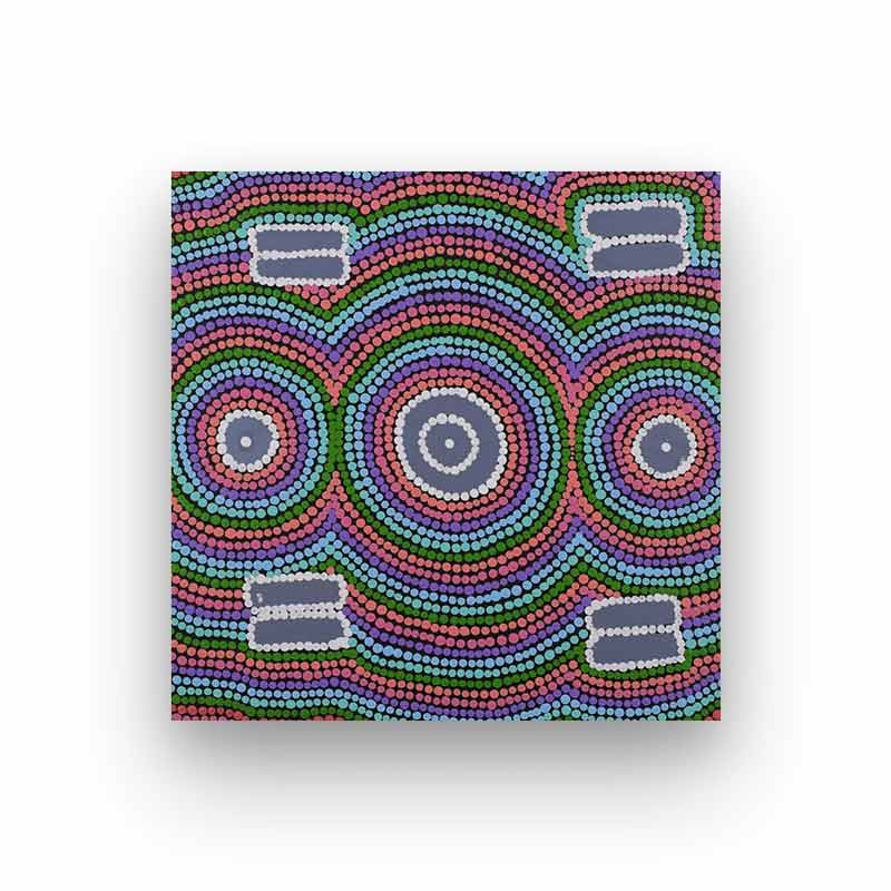 Contemporary Aboriginal Art For Sale Narelle Nakamarra Nelson BitsofAustralia