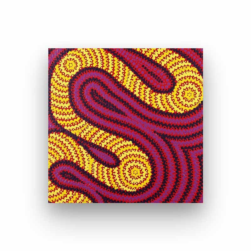 Contemporary Aboriginal Art for Sale by Nikita Lankin bitsofaustralia