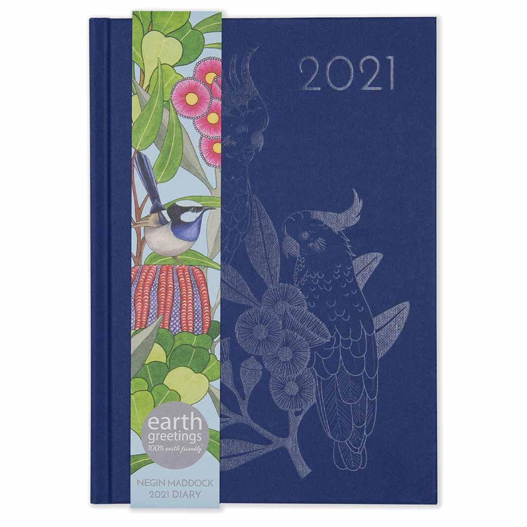 Corporate-Gifts-Australia-2021-Diary-Australian-made-Navy.