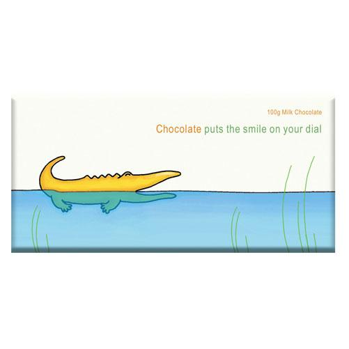 Crocodile Smile Milk Chocolate