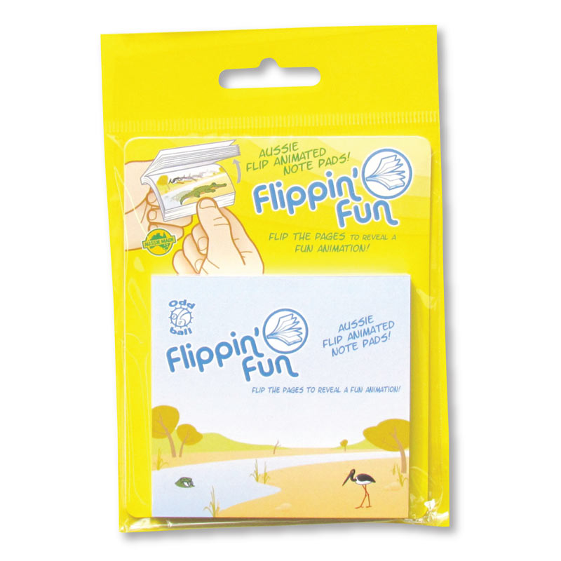 Australian Crocodile Souvenirs - Flippin Fun Sticky Notes