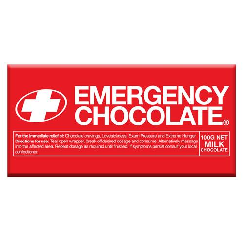 Emergency Milk Chocolate