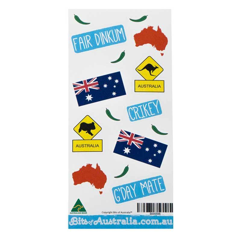 Fair Dinkum Aussie Stickers