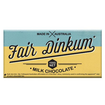 Fair Dinkum Milk Chocolate