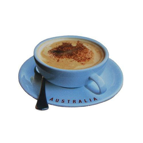 Australian Made Gifts & Souvenirs with the Coffee Cup Magnet -by Visit Merchandise. For the best Australian online shopping for a Magnets