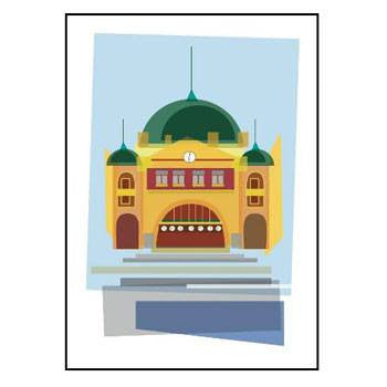 Australian Made Gifts & Souvenirs with the Melbourne Cards Pack -by Bits of Australia. For the best Australian online shopping for a Greeting Cards - 1