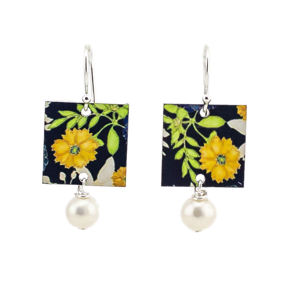 Flower Pearl Earrings for Women Australia under 50 gifts for Christmas