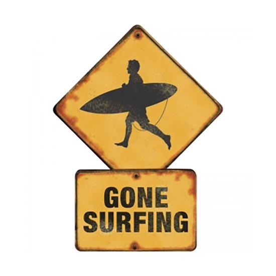 Gone Surfing Magnet