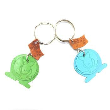 Colourful Triple Kangaroo Keyring