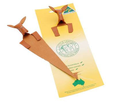 Australian Made Gifts & Souvenirs with the Kangaroo Leather Bookmark -by Gamagon. For the best Australian online shopping for a Accessories - 1
