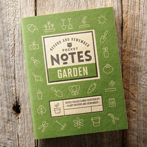 Garden Pocket Notes